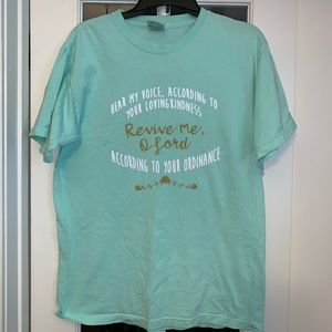 Comfort Colors Mint colored Spiritual T-Shirt